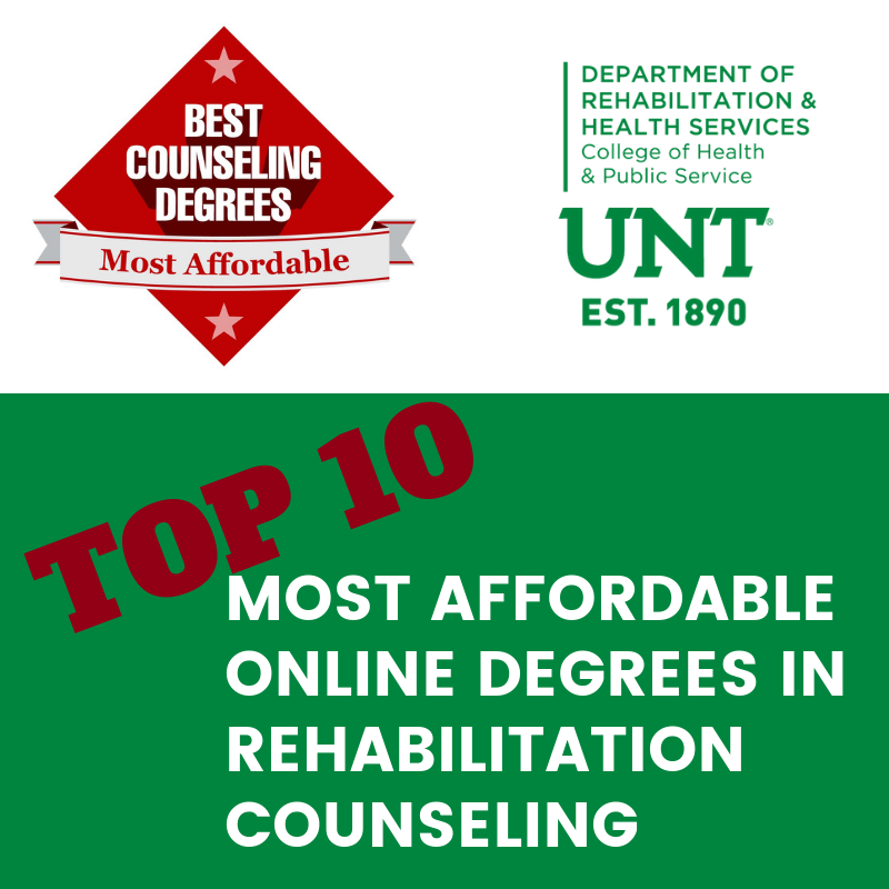 Unt Master Of Science In Rehabilitation Counseling Degree Makes Top