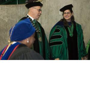 Dr. Neal Smatresk and Dr. Jennifer Evans-Cowley
