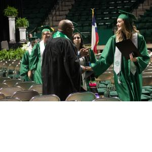 Handshakes for the grads