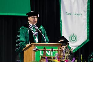 Dr. Smatresk speaking