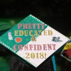 Educated and Confident