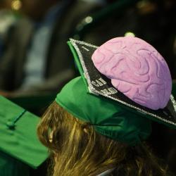 Brainy grad